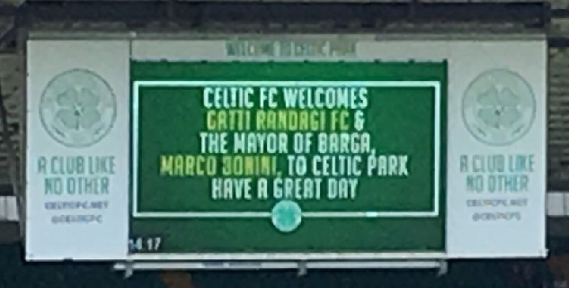 Welcome Gatti Randagi Celtic Park